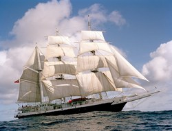 Lord Nelson in Full Sail